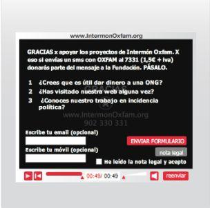 video interactivo Intermón-Oxfam