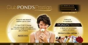Ponds Prestige, el programa de fidelización de la marca Ponds